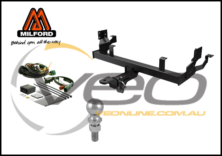 HOLDEN COMMODORE VE SEDAN/WAGON 08/06-05/13 MILFORD HEAVY DUTY TOW BAR KIT