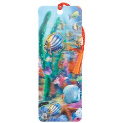 3d Lenticular Bookmark Tropical Fish