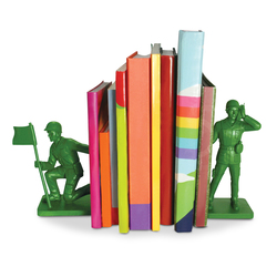 Soldier Bookends