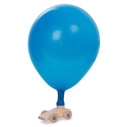 Wooden Balloon Car