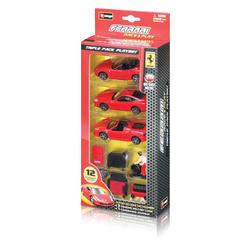 143 Ferrari Race & Play Triple Play Set