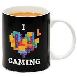 Tetris I Heart Gaming Mug