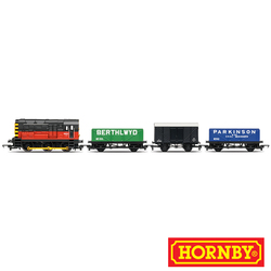 Train Pack Br Red Railroad Locos