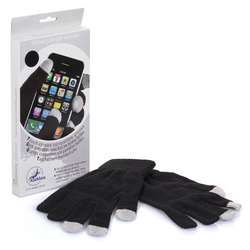 Relaxus Touch Screen Gloves Black
