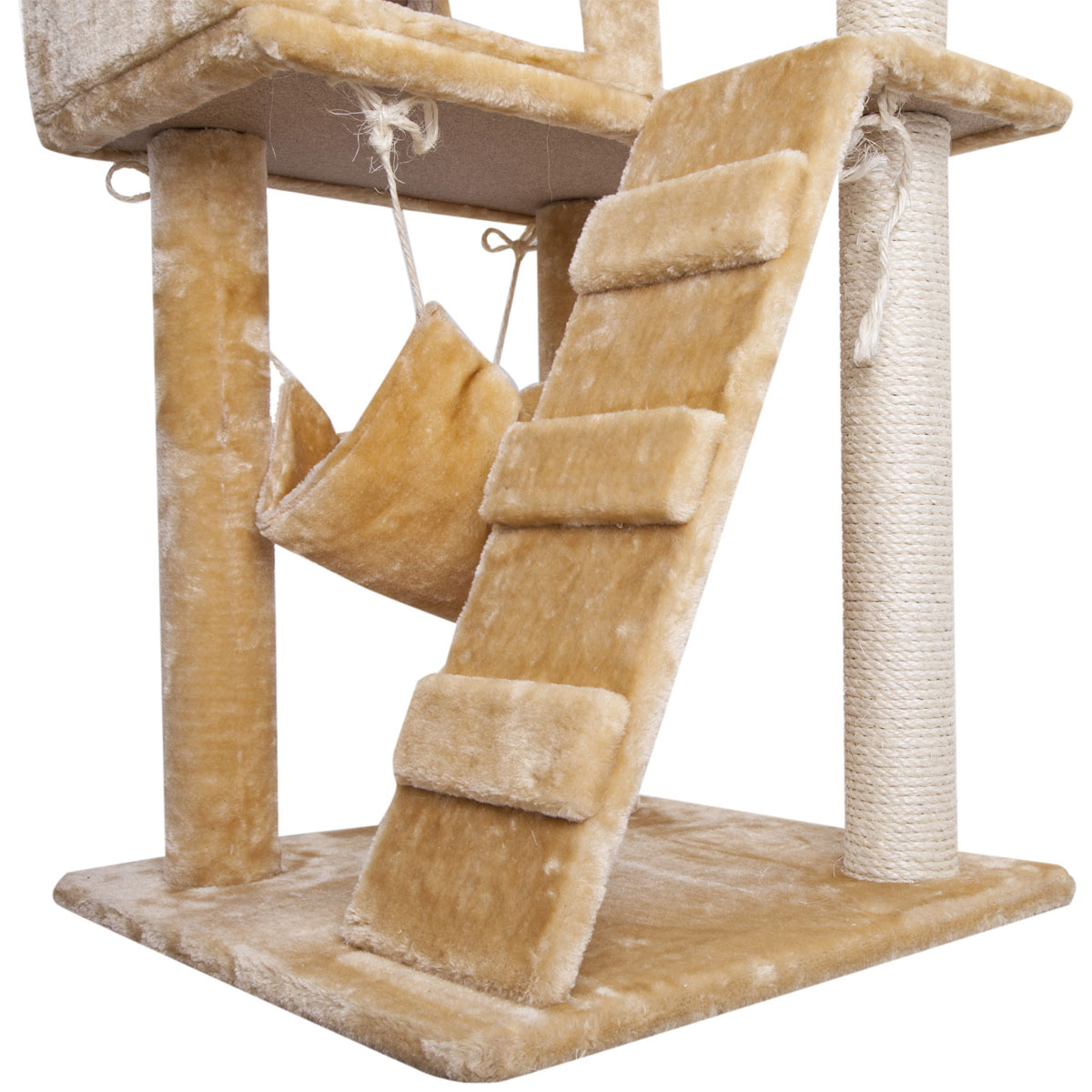 The gallery for diy cat tree house for Cat tree blueprints