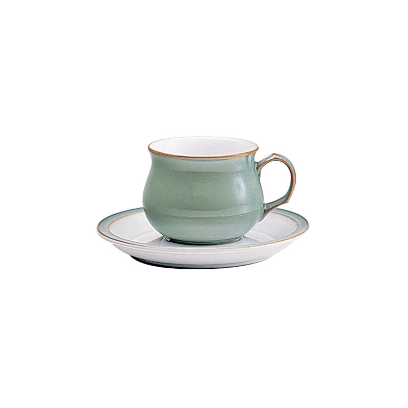 Denby Pottery Regency Green Tea Saucer (cup sold separately)