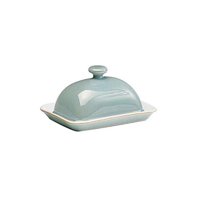 Denby Pottery Regency Green Butter Dish