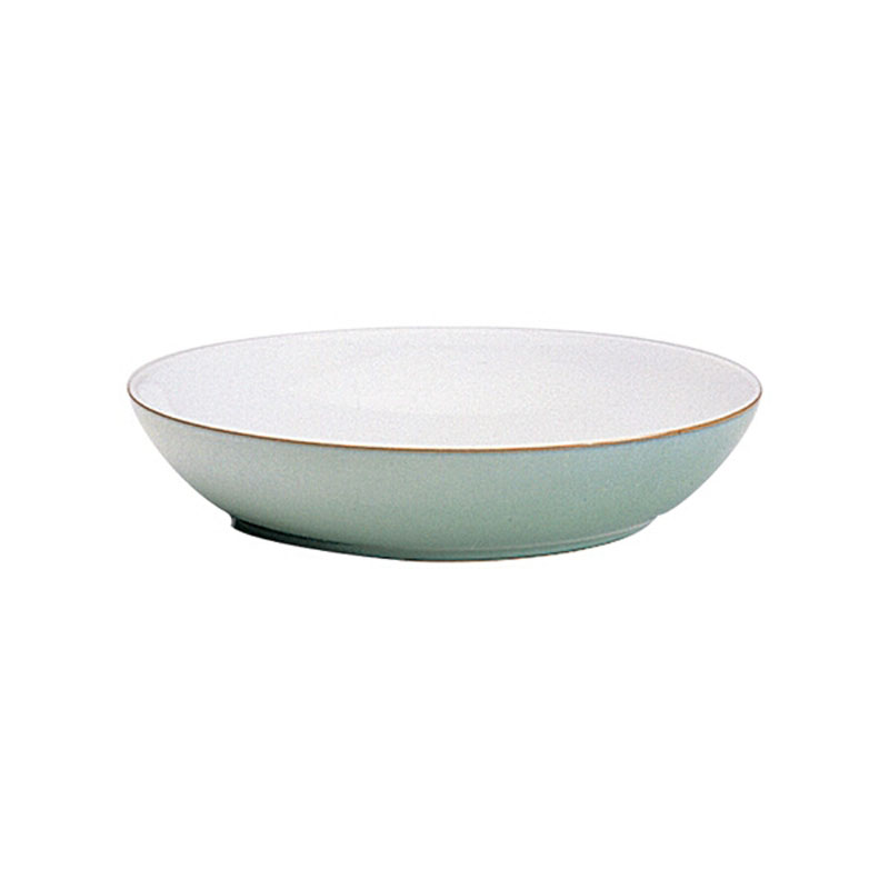 Denby Pottery Regency Green Pasta Bowl