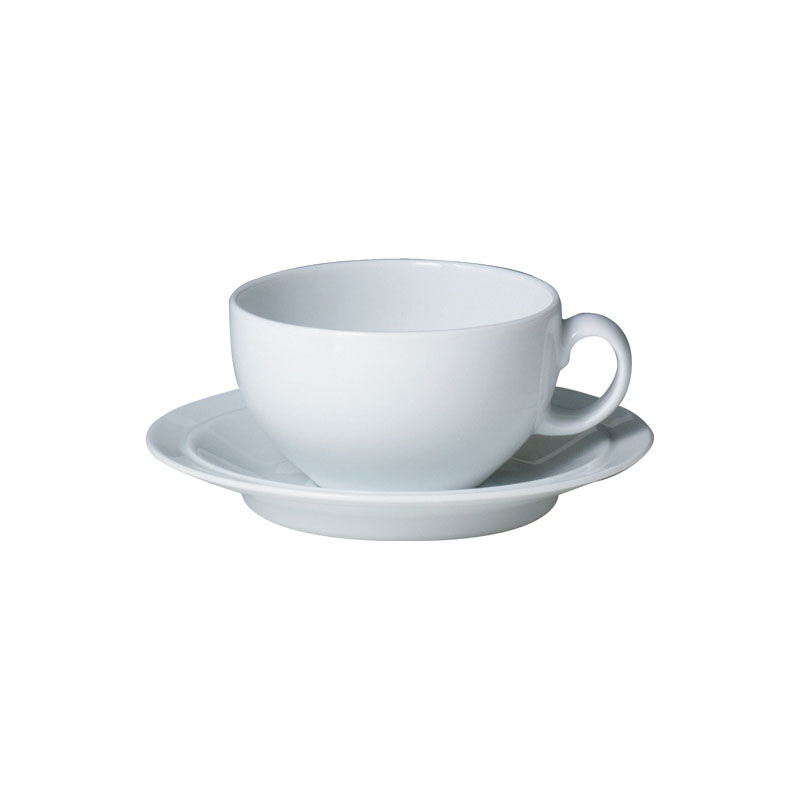 Denby Pottery White Tea Saucer (teacup sold separately)