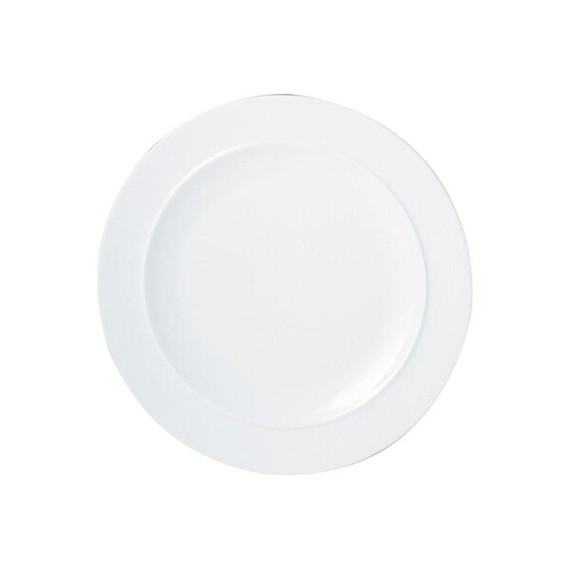 Denby Pottery White Dessert/Salad Plate