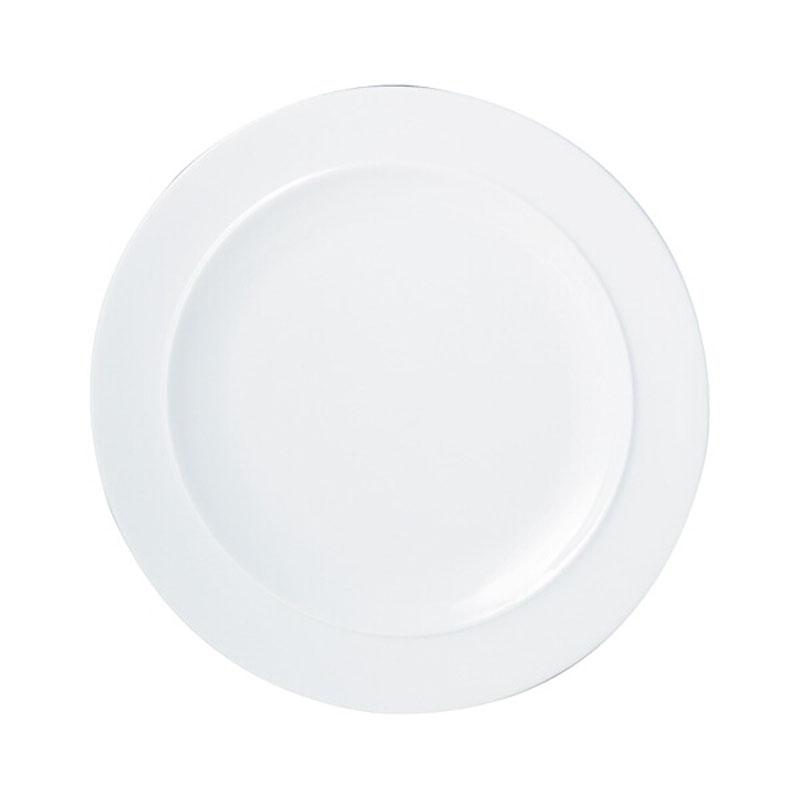 Denby Pottery White Dinner Plate
