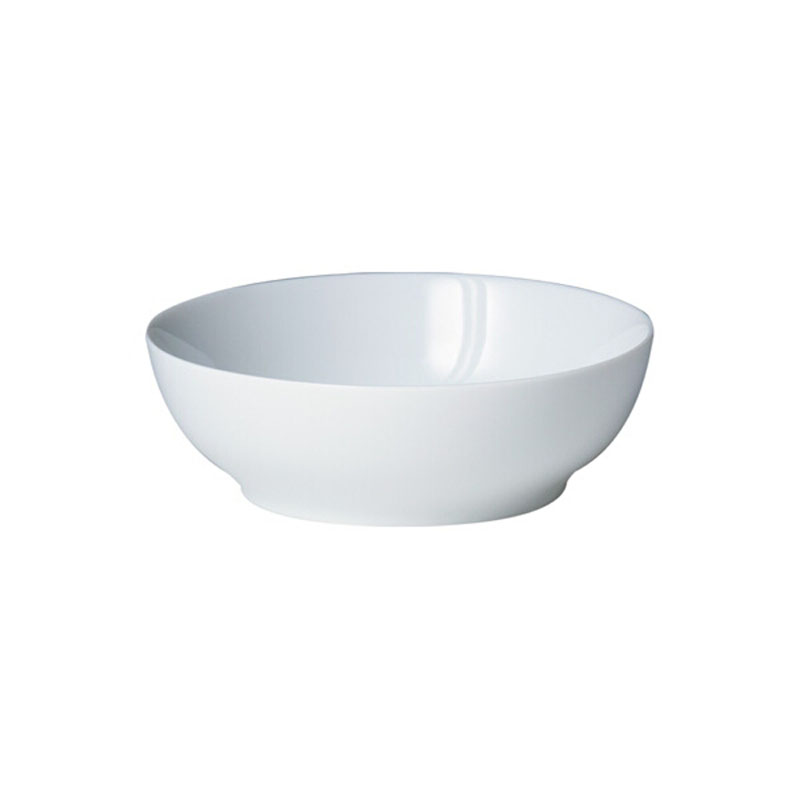 Denby Pottery White Soup/Cereal Bowl