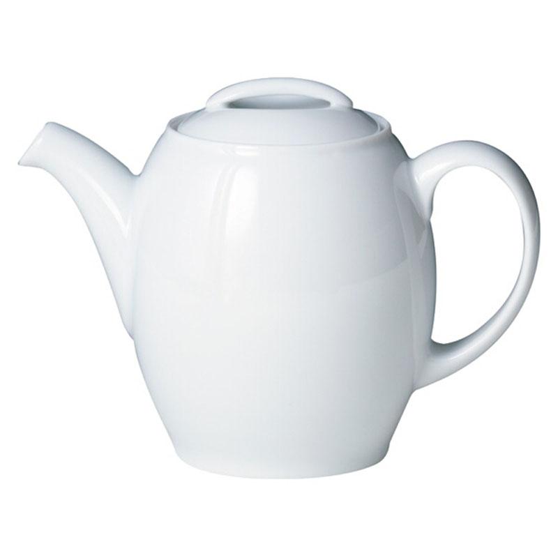 Denby Pottery White Teapot
