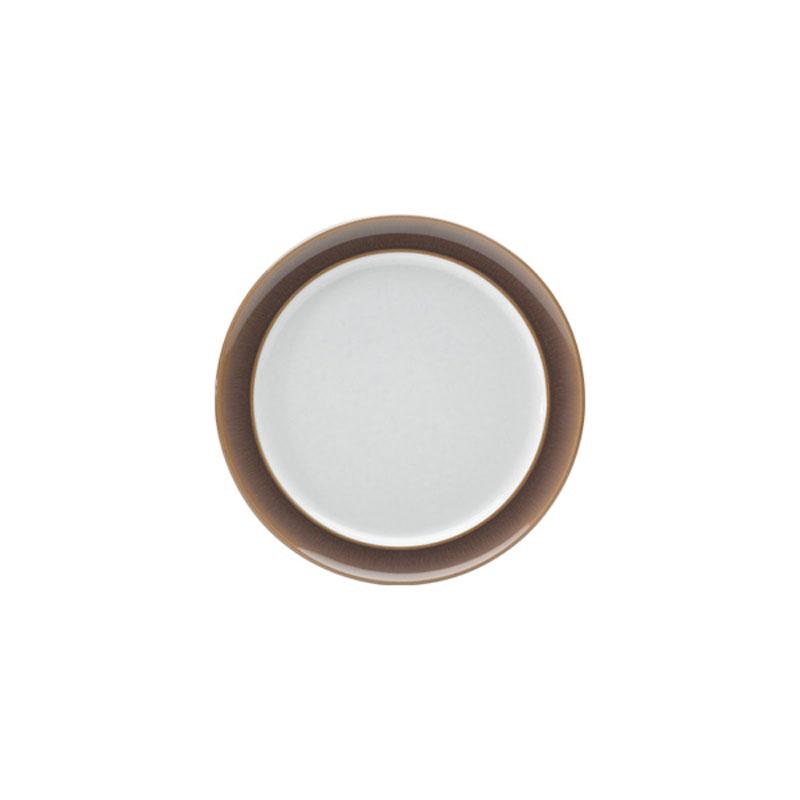 Denby Pottery Truffle Wide Rimmed Tea Plate