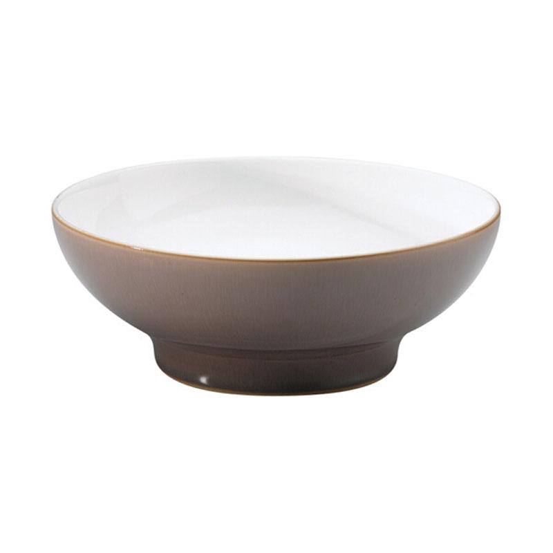 Denby Pottery Truffle Medium Serving Bowl