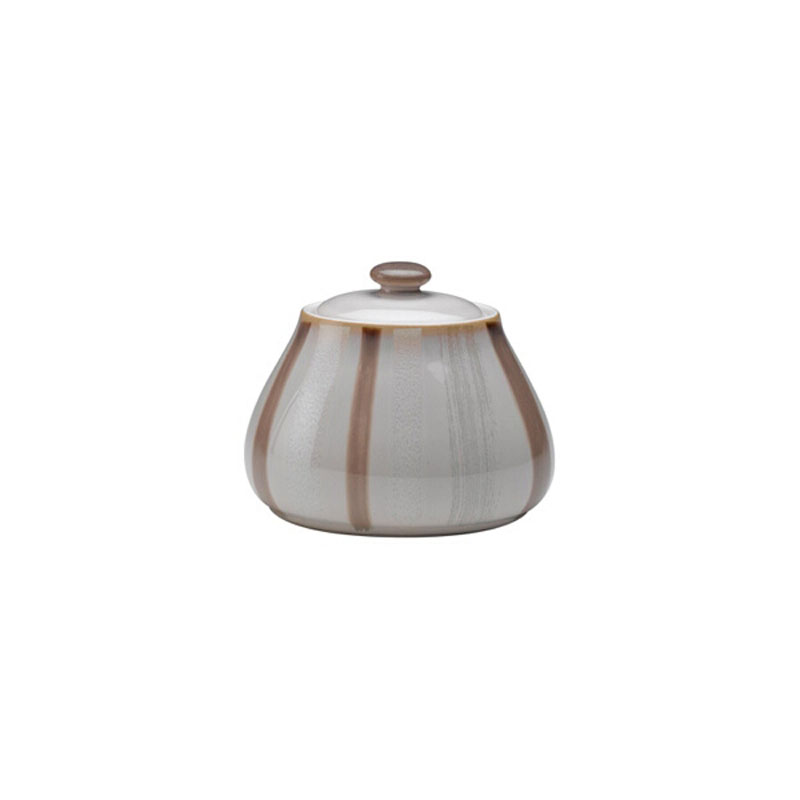 Denby Pottery Truffle Layers Covered Sugar
