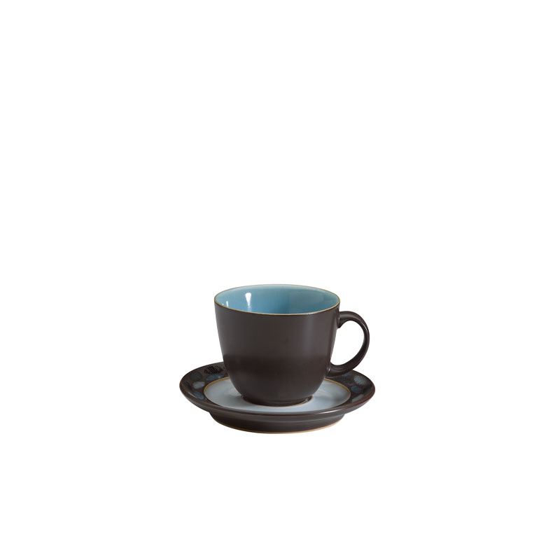 Denby Pottery Sienna Turquoise Teacup (saucer sold separately)