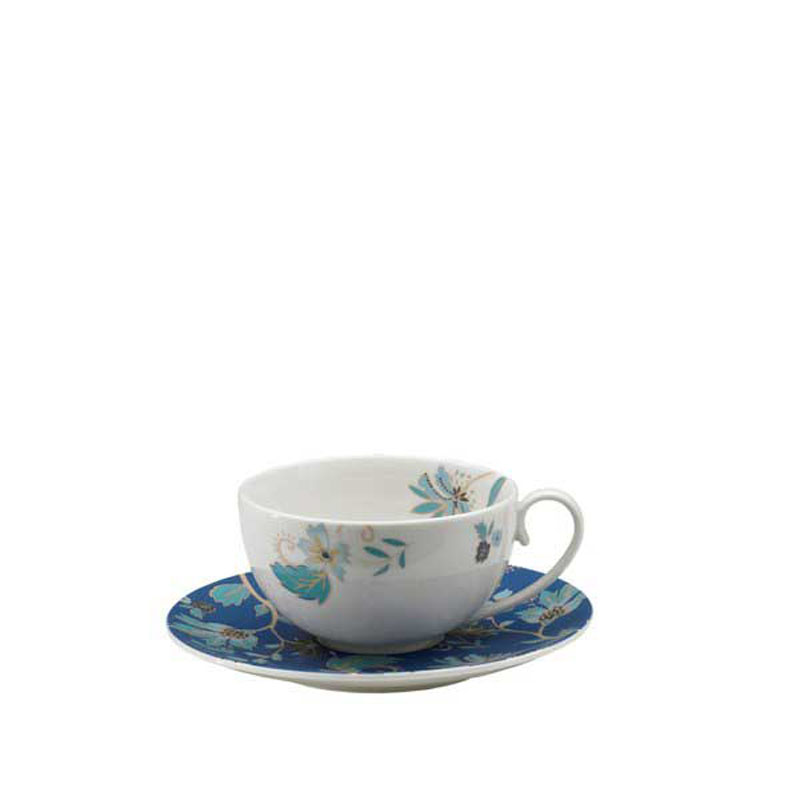 Denby Pottery Monsoon Veronica Tea Saucer (teacup sold separately)