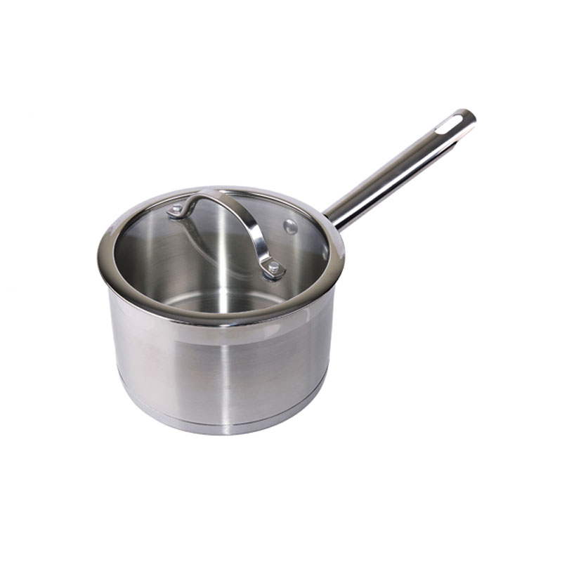 Denby Pottery Stainless Steel Saucepan 18cm with Lid