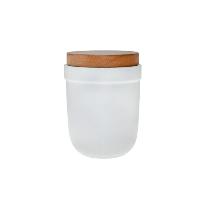 Denby Pottery White Storage Jar