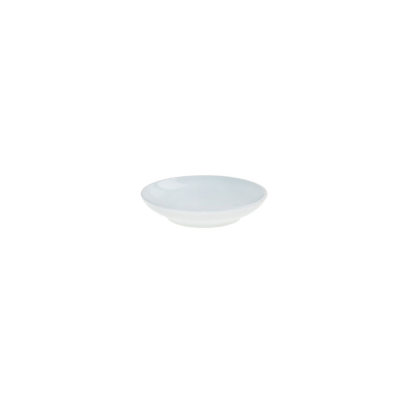 Denby Pottery White Small Shallow Bowl