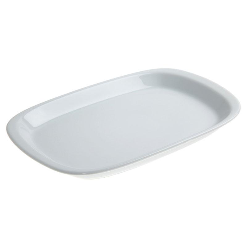 Denby Pottery White Rectangular Plate