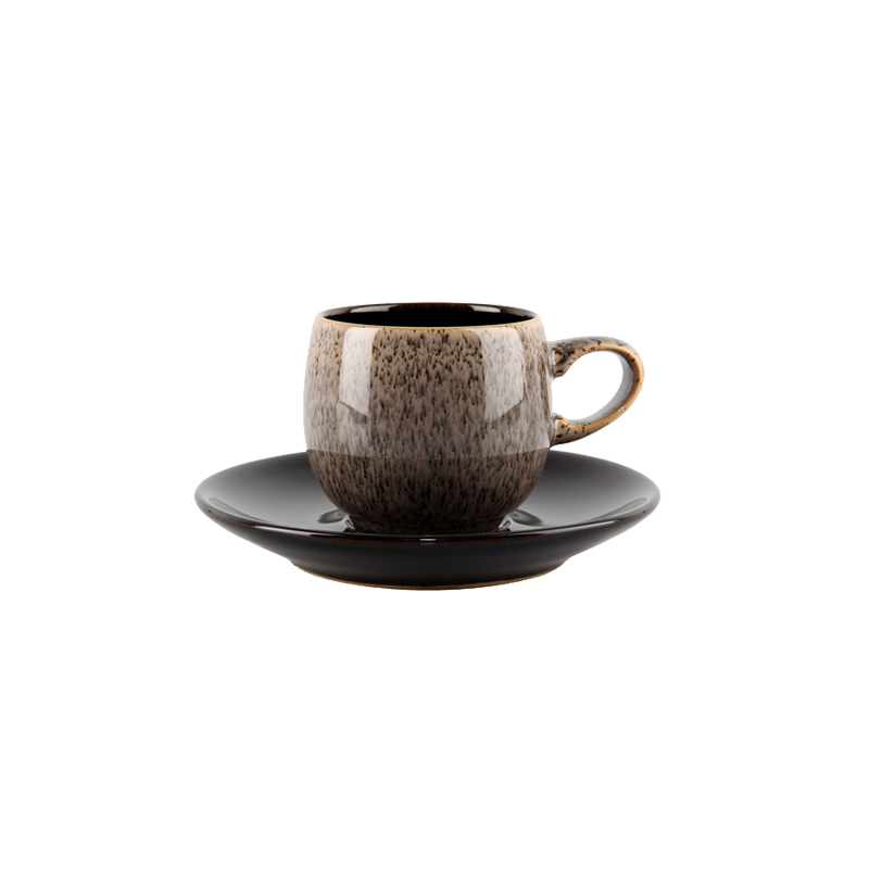 Denby Pottery Praline Espresso Saucer (cup sold separately)