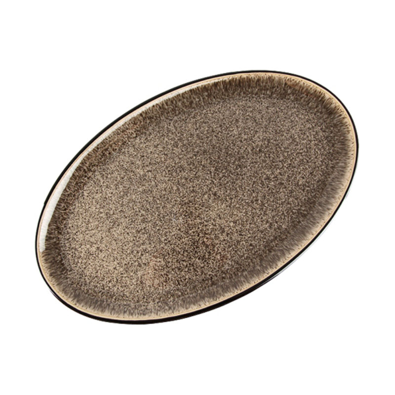 Denby Pottery Praline Oval Platter