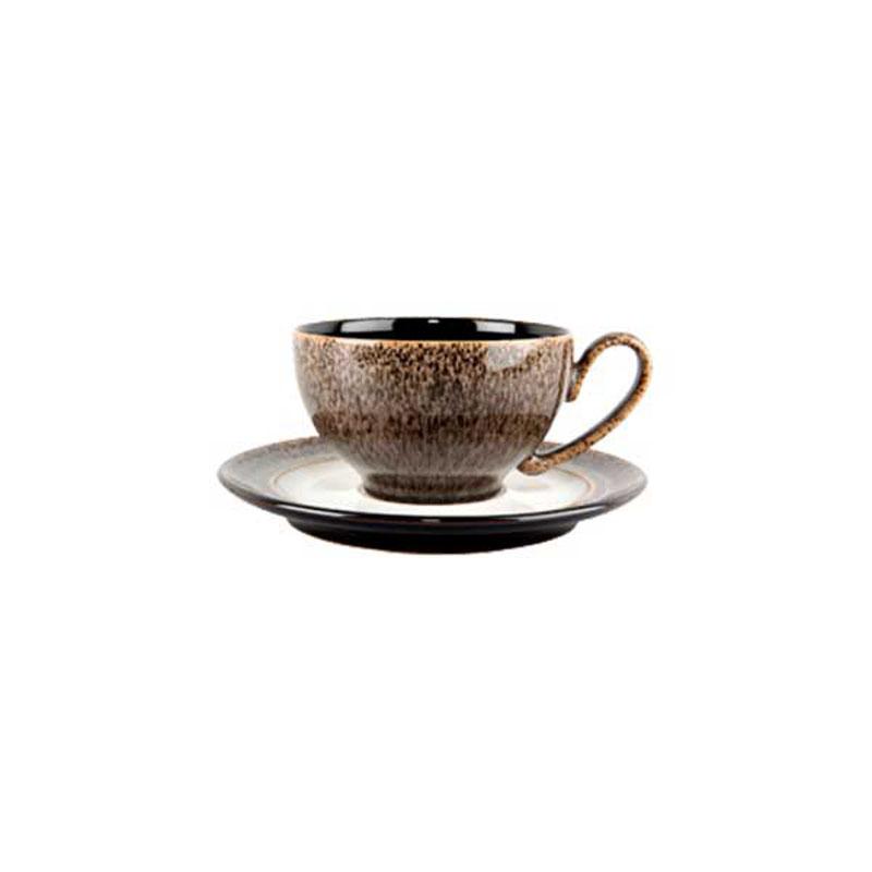 Denby Pottery Praline Tea Saucer (teacup sold separately)