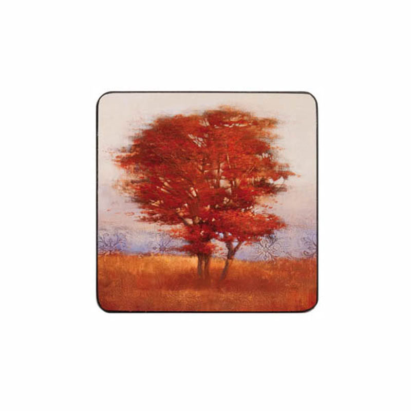 Tabletalk Autumn Tree Coaster Set of 6  supplied by Denby Pottery