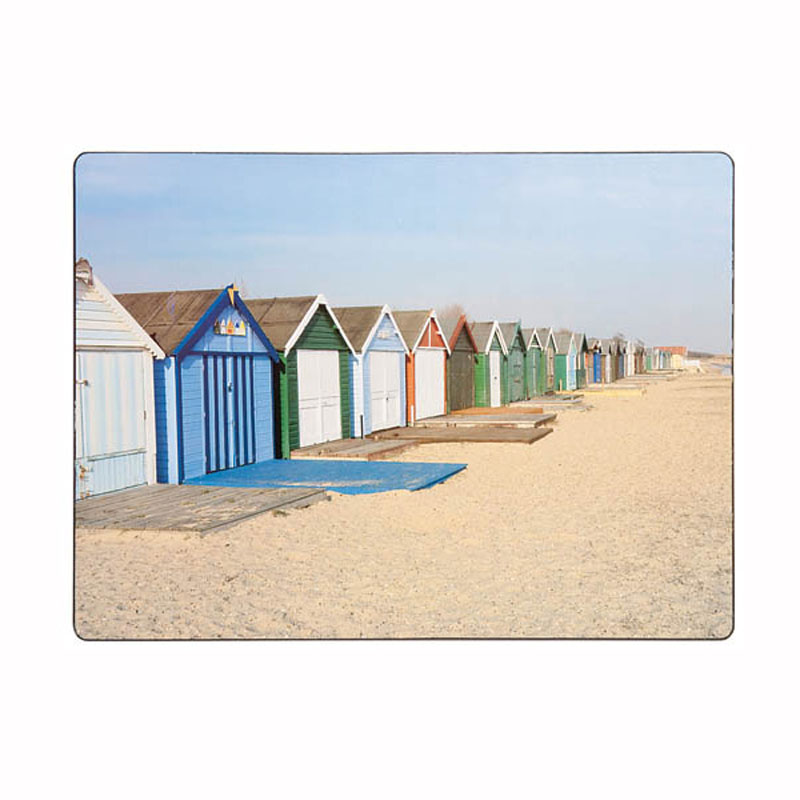 Tabletalk Beach Huts Placemats Set of 6 supplied by Denby Pottery
