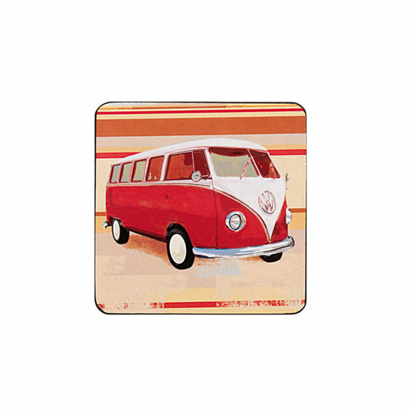Tabletalk Camper Van Coasters Set of 6  supplied by Denby Pottery