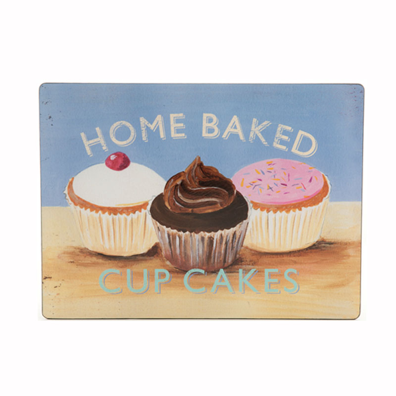 Tabletalk Cupcake Placemats Set of 6  supplied by Denby Pottery