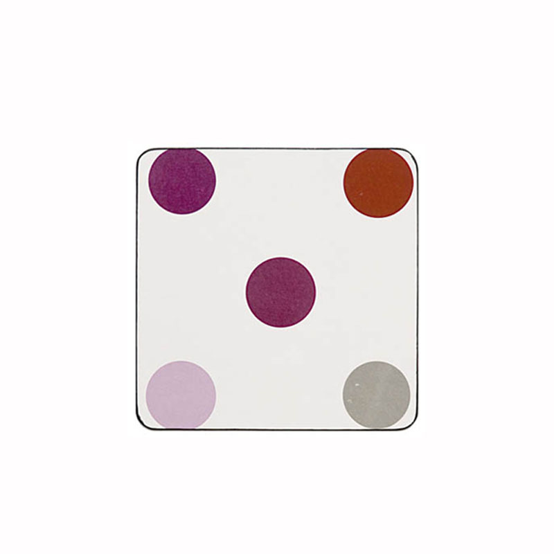 Tabletalk Damson Coasters Set of 6  supplied by Denby Pottery