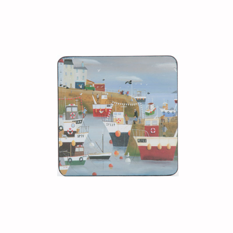 Tabletalk Harbour View Coasters Set of 6  supplied by Denby Pottery