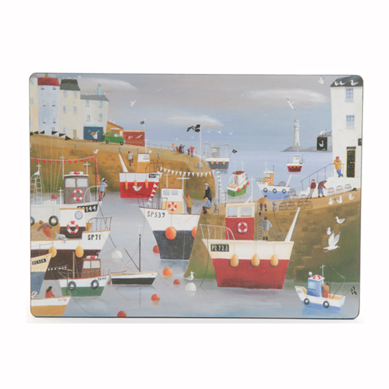 Tabletalk Harbour View Placemats Set of 6  supplied by Denby Pottery