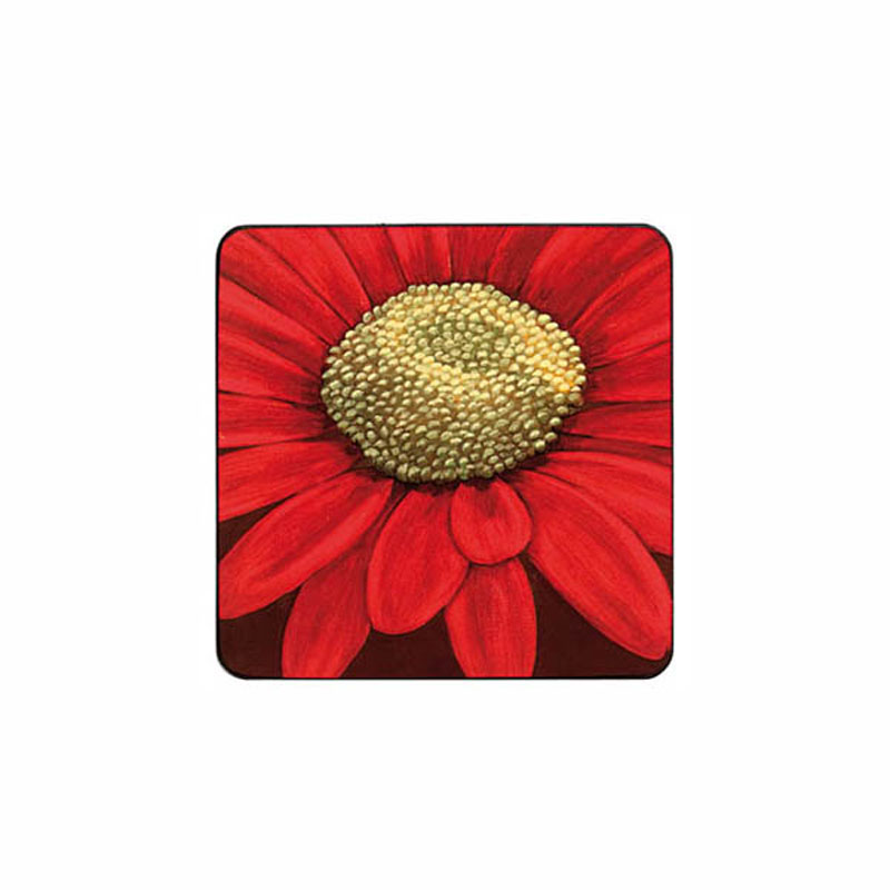 Tabletalk Red Velvet Coasters Set of 6  supplied by Denby Pottery