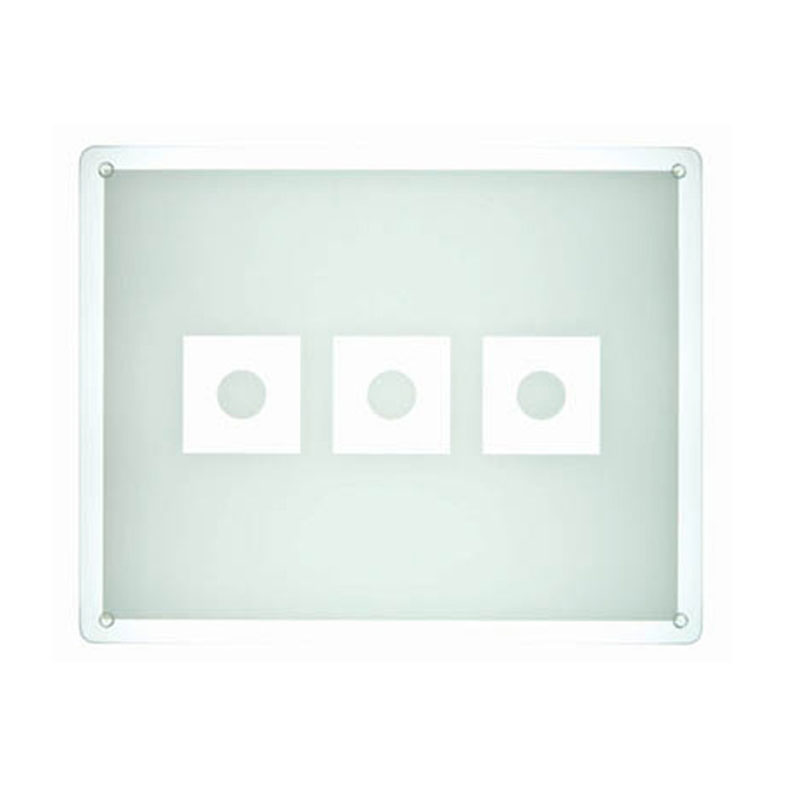 Denby Pottery Lifestyle Glass Big Board - Ice