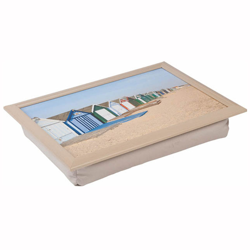 Tabletalk Beach Huts Lap Tray  supplied by Denby Pottery