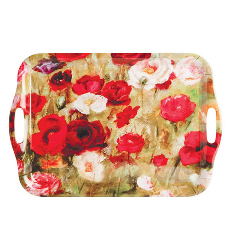 Tabletalk Field of Poppies Serving Tray  supplied by Denby Pottery