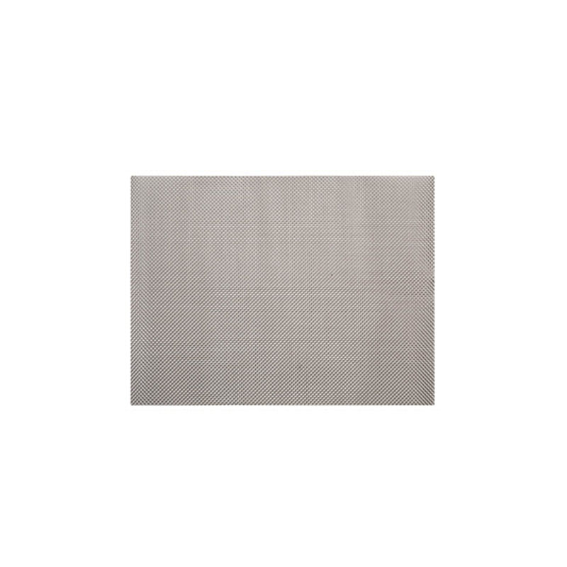 Denby Pottery Lifestyle Woven Vinyl Placemat - Silver