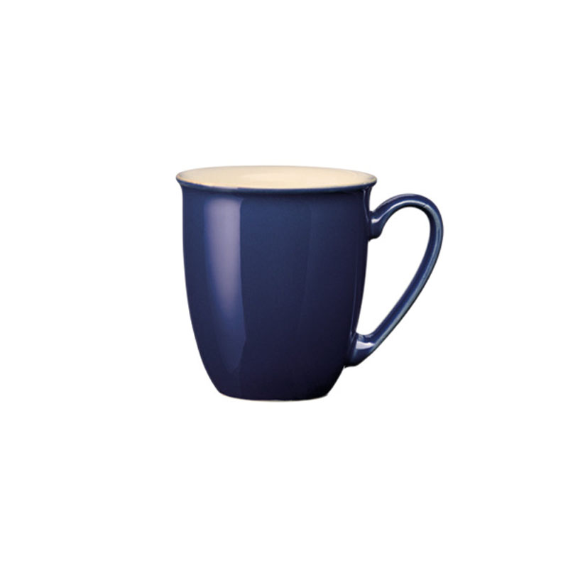Denby Pottery Cook and Dine Royal Blue Coffee Beaker