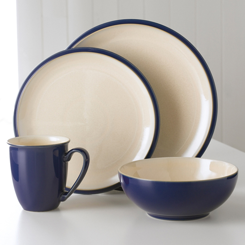 Denby Pottery Cook & Dine Royal Blue 4 Piece Set