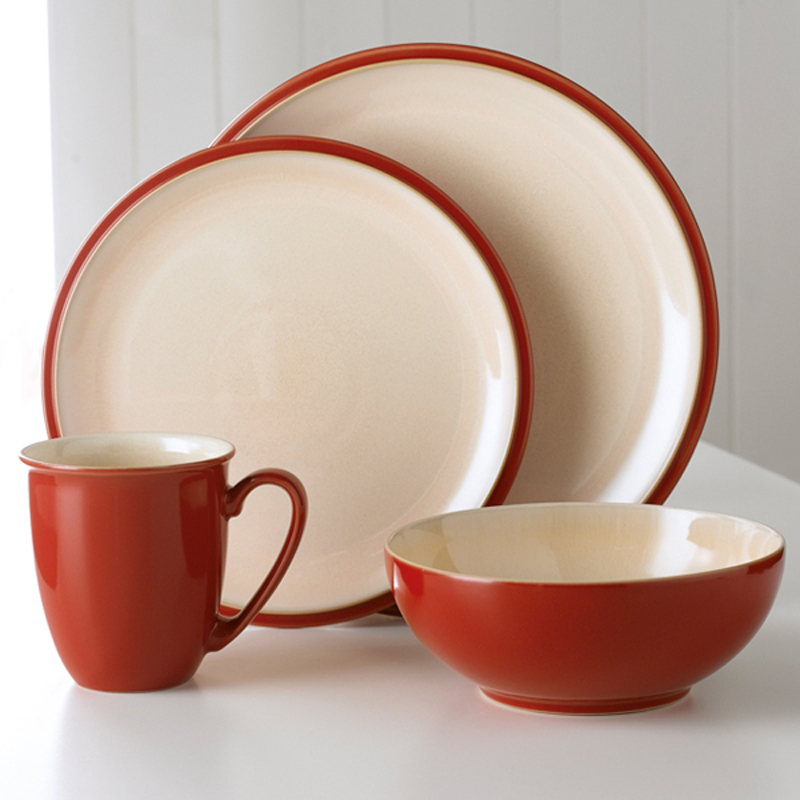 Denby Pottery Cook & Dine Cherry 4 Piece Set