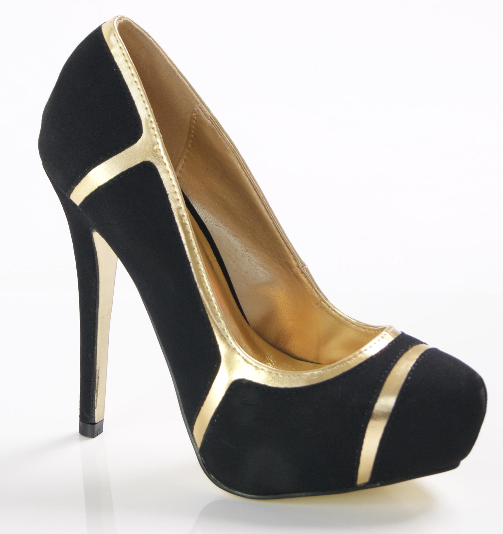 womens platform high heel court shoes sandals