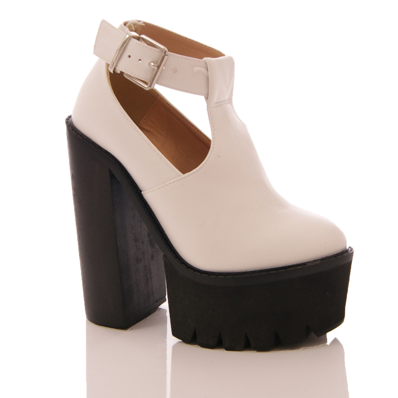 LADIES-WOMENS-ANKLE-PLATFORM-HIGH-BLOCK-HEEL-CUT-OUT-BOOTS-SHOES-BLOGGERS-SIZE