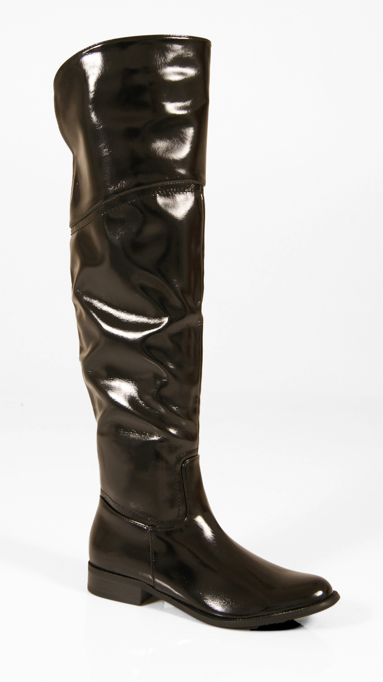 womens boots the knee thigh high faux leather