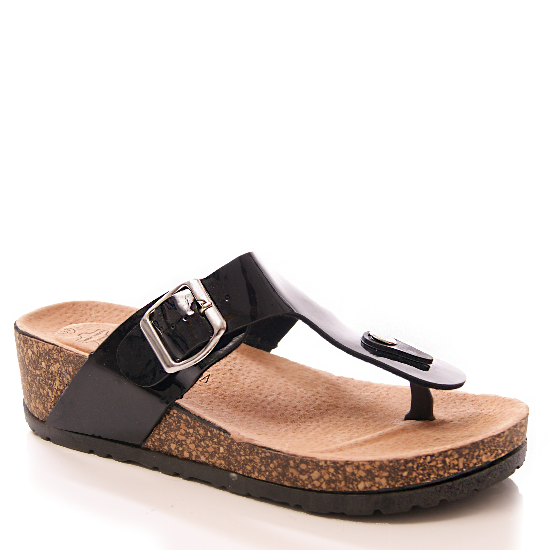 womens footbed sandals wedges causal comfort