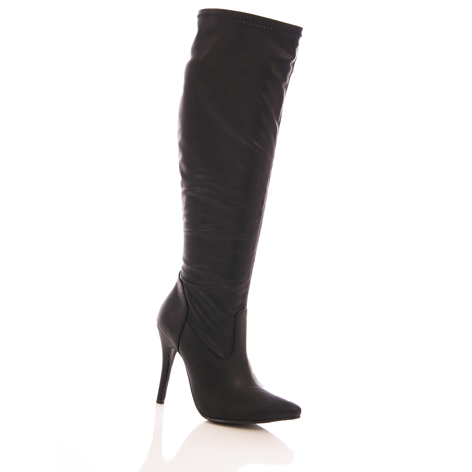 More Details Givenchy Chain-Trimmed Stretch-Leather Over-the-Knee Boot, Black Details Givenchy stretch-leather boot with silvertone hardware. Flat heel with chain inset. Round toe. Tonal topstitching. Over-the-knee silhouette. Back zip eases dress. Chain-trimmed welt. Smooth outsole.