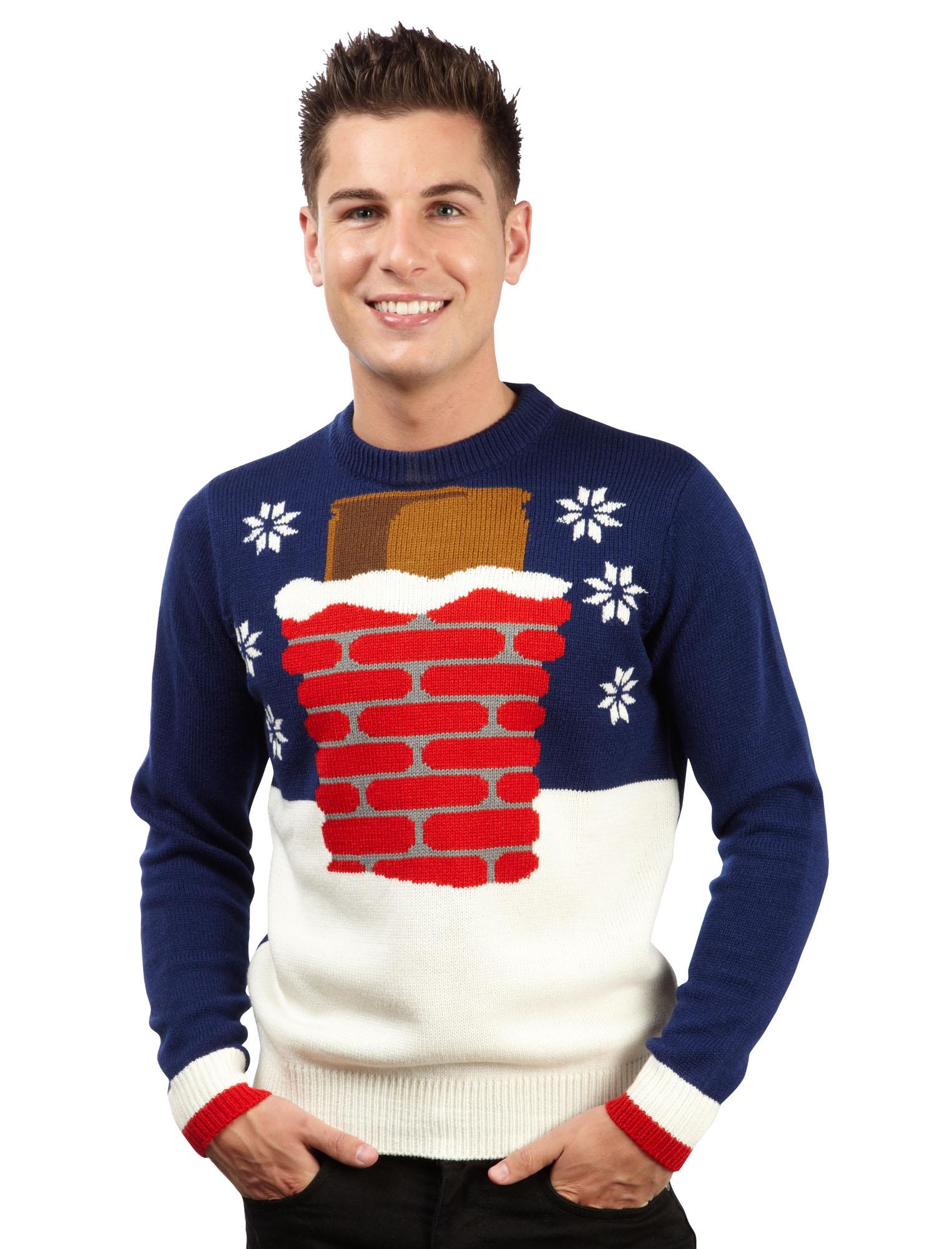 Christmas Jumper Knitting Patterns For Men : Mens Christmas Jumper Novelty Knitted Xmas Jumpers Sweater Top New eBay